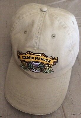 Sierra Nevada Brewing Company stitched logo Hat Cap Beer Ale