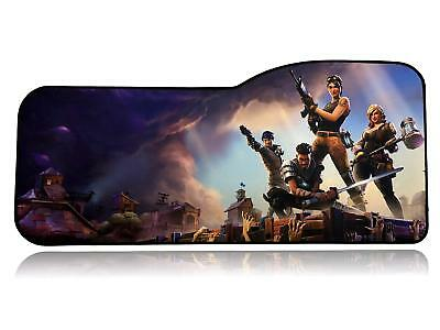 Fortnite Extended Size Custom Professional Gaming Mouse Pad - Anti Slip Rubber