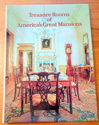 Treasure Rooms of America's Mansions Manors and Houses, Reif  1970