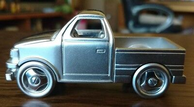 Timex Miniature Silver Pick-up Truck Clock-For Parts