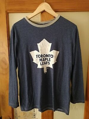 Womens Toronto Maple Leafs Nhl Hockey Jersey Size Xl Uk 14/16
