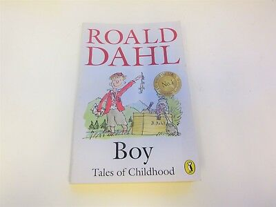 ROALD DAHL Boy: Tales of Childhood (Puffin Story Books), Used