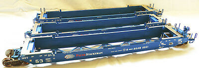Atlas Spur 0 US Container Cars Gunderson Maxi IV - 2-Rail - Pacer #6001