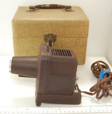 Viewmaster Projector Model S-1 Sawyer with Travel Case, Tested, Great Condition