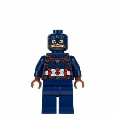 NEW LEGO CAPTAIN AMERICA FROM SET 76032 AVENGERS AGE OF ULTRON (sh177)