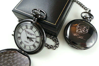 MIKE TYSON Signed POCKET WATCH Boxing Memorabilia Fight Fans Signature Gift Box
