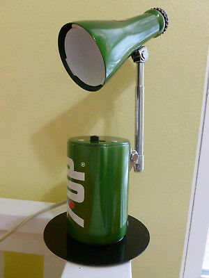 Vintage 7UP Lamp With Cord by Lear Siegler, Looks Great, Works