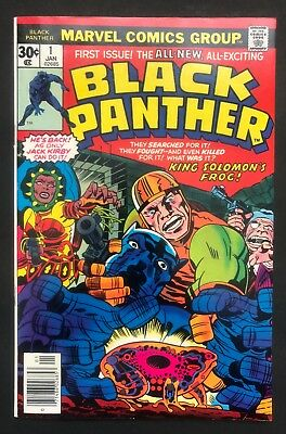 Black Panther #1 (Marvel - 1/77) NEAR FLAWLESS - 1st Black Panther self title