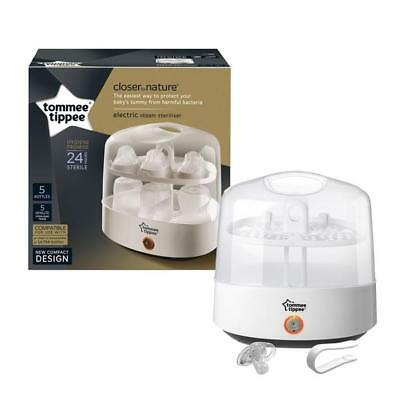 Tommee Tippee Closer To Nature Baby Bottle Microwave Electric Steam Steriliser