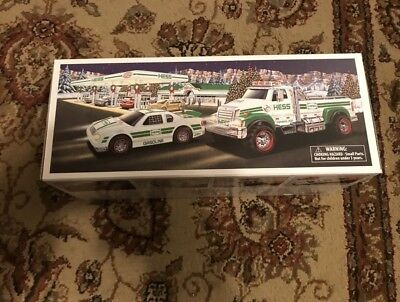 New 2011 Hess TOY TRUCK AND TRACTOR Brand New Collectible NIB