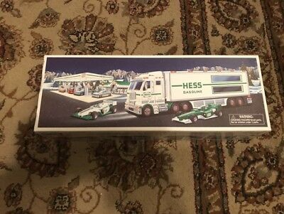 New 2003 Hess TOY TRUCK and RACE CARS Brand New Collectible NIB