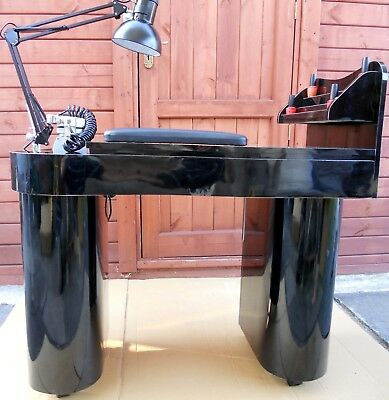 Manicure Table Nails Table Jk,build In Attractor Black Color