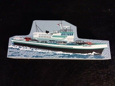CATS MEOW M/V Silver Lake 2000 Signed Ferry Ocracoke, NC