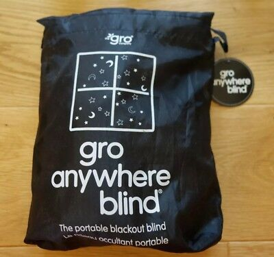 Gro Company Gro Anywhere Blackout Blind EXCELLENT CONDITION with tags