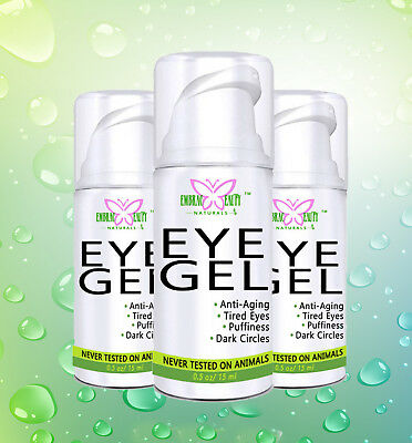 Eye Gel Cream for Wrinkles, Fine Lines, Dark Circles, Puffiness, and Bags