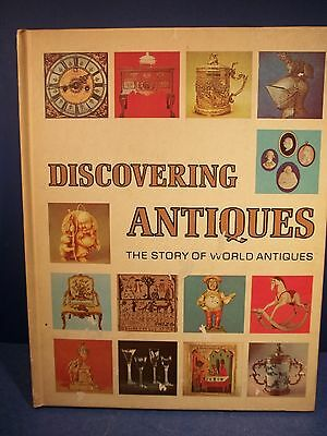 Book - 1972 Hardback  Discovering Antiques Volume 1