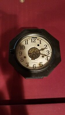 Antique Universal Cleveland Automatic Timer Clock Rare WORKING for factory shift