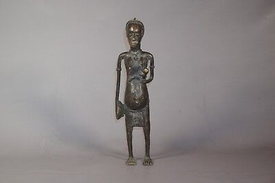 Gorgeous African Maternity Statue/Figure from the Senufo Tribe 16""