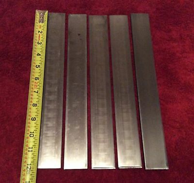 "1095 STEEL 1/8"" x 1 1/2"" x 12"" ANNEALED KNIFE MAKING FORGING STOCK REMOVAL"