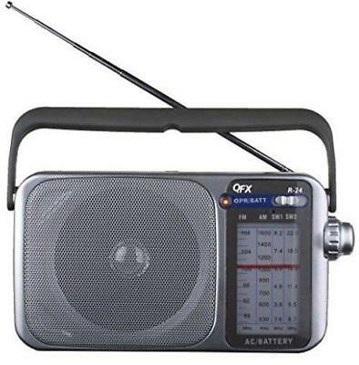 QFX R-24 Portable AM/FM/SW1-SW2 Radio