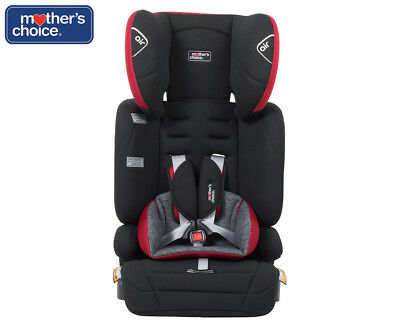 Mother's Choice Joy Convertible Booster - Black/Red