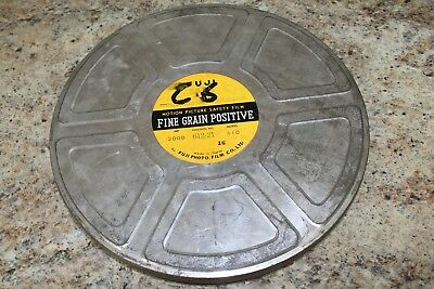 VINTAGE FUJI 35mm MOVIE FILM CAN - 14 INCH DIAMETER