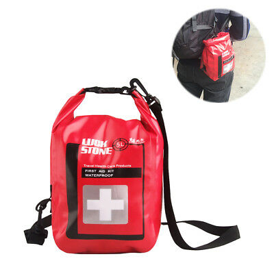 Climbing Bags Small Medical Bags Portable Camping Transparent Waterproof Survival Medical Storage Bag First Aid Kit 17x7x12cm Hiking Supplies Back To Search Resultssports & Entertainment