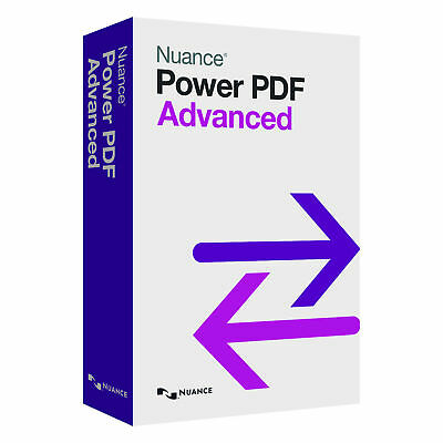 Nuance Power PDF Advanced v1.2 | Full Version - Comparable to Adobe Acrobat Pro
