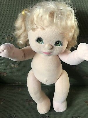 My Child Aussie Blonde Curly Pigtails Mattel Doll Green Charcoal