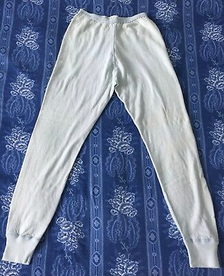 Vintage Duofold Long Underwear, Woman's Bottoms, 12 Long, Powder Blue