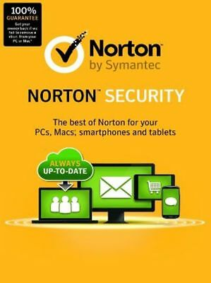 2018 NORTON Security   5 Device   Premium Anti-Virus  Activation Key 90 Days