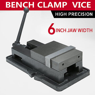 6'' Accu Lock Vise Precision Milling Drilling Machine Bench Clamp Clamping Vice