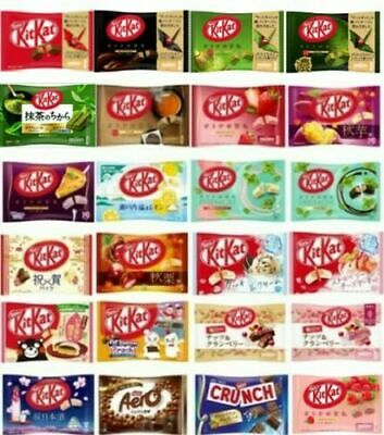 Kit kat chocolate Nestle Mini Matcha Strawberry Raspberry, and more From Japan
