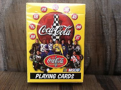 Coca-Cola Advertising Nascar Playing Cards New In Package Deck