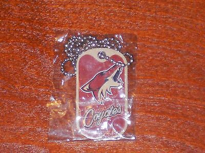 Lot Of 2 Phoenix Coyotes Nhl Dog Tag Free Shipping New In Package