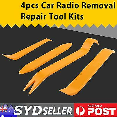 Premium 4PCS Car Door Removal Repair Tool Kit Radio Player Dashboard Panel Trim