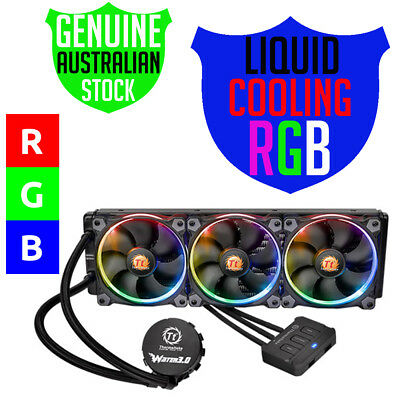 Thermaltake 3.0 Water Cooling, 360 RGB Edition for PC's