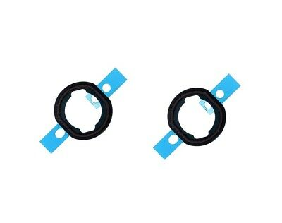 2X Home button Rubber Seal Gasket Spacer Adhesive Replacement for iPad