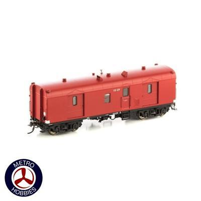 Auscision HO VGV-4 CP Guards Van VR Passenger Car Red 2pk 11041 Brand New