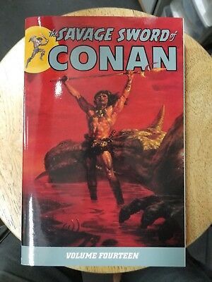 Savage Sword Of Conan Volume 14 Graphic Novel Tp Dark Horse New Oop