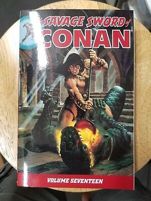 Savage Sword Of Conan Volume 17 Graphic Novel Tp Dark Horse New Oop