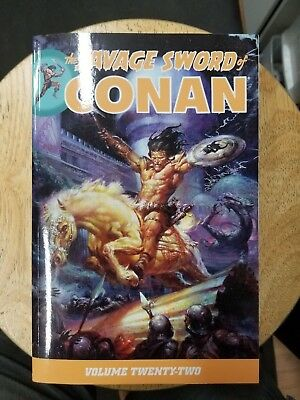 Savage Sword Of Conan Volume 22 Graphic Novel Tp Dark Horse New Oop