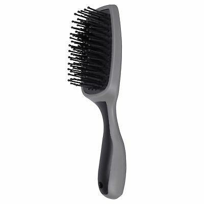 Wahl Comfort Rubber Grip Unisex Horse Care Mane And Tail Brush - Black Grey