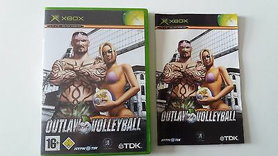Outlaw Volleyball Xbox nur OVP Hülle mit Anleitung only Box