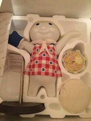 Pillsbury Doughboy  Baked To Perfection 1999 Danbury Mint Collectible.