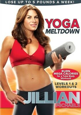 Yoga DVD - JILLIAN MICHAELS Yoga Meltdown - 2 Workouts!
