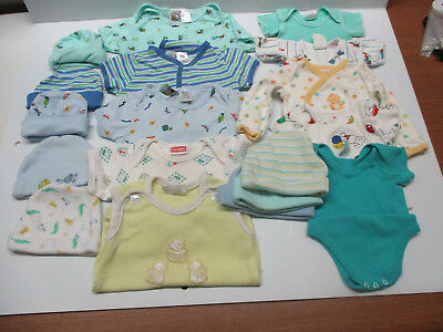 Baby Boy Bodysuits, shirts  Lot Size 0-3 & 0-to 6 Months