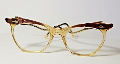 FABULOUS VINTAGE 50's WINGED BUTTERFLY SPECTACLES GLASSES