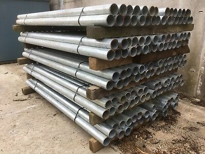 Steel Galvanised Garden /Security /Farming Fence Posts 60.3 x 3mm CHS Tubes