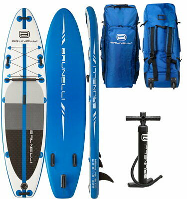 BRUNELLI 10.8 Premium SUP Board Stand Up Paddle Surf-Board Double Layer 325cm